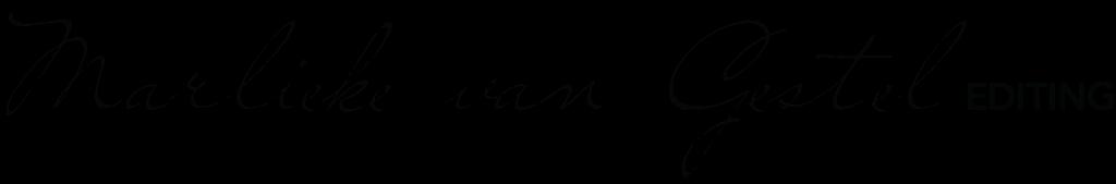 Marlieke van Gestel editing logo